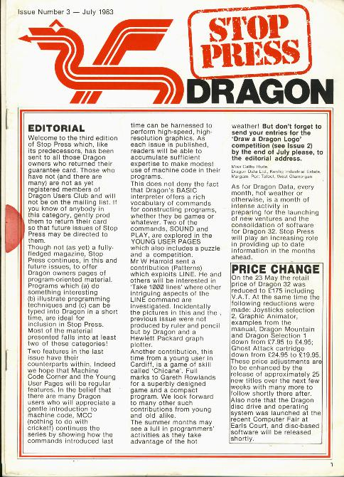 Dragon 32 Stop Press 3