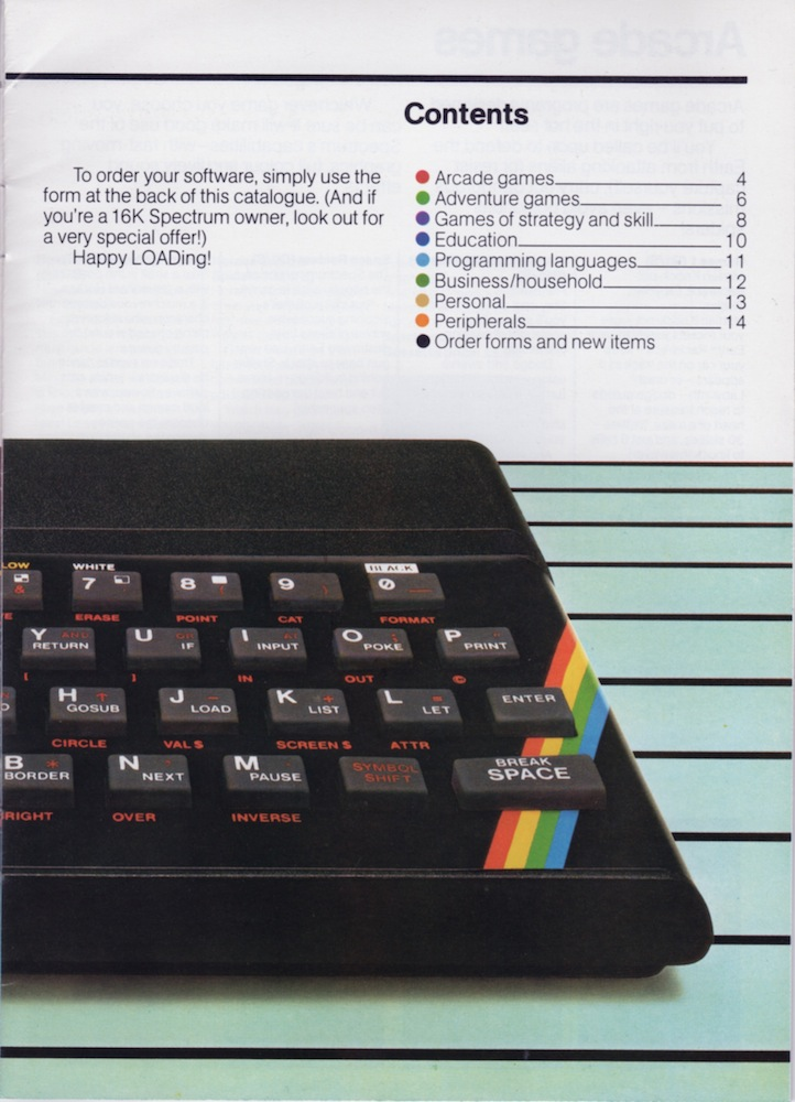 ZX Spectrum Software Catalogue June 1983