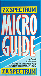 ZX Spectrum Micro Guide