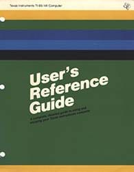TI99/4A Users Reference Guide
