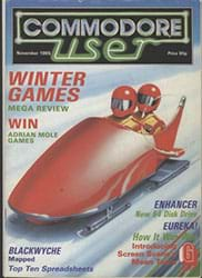 Commodore User November 1985