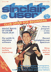 Sinclair User January 1983
