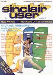 Sinclair User July 1983