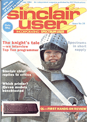 Sinclair User July 1984