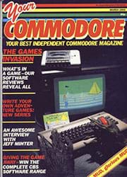 Your Commodore March 1985