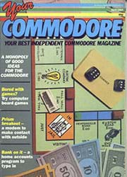 Your Commodore April 1985