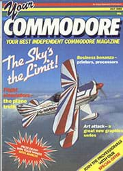 Your Commodore July 1985