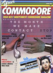 Your Commodore August 1985