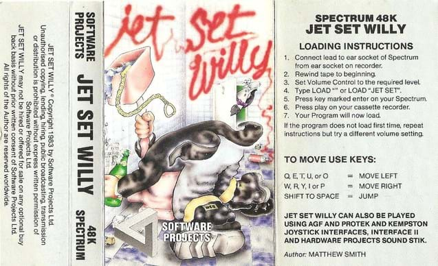 Jet Set Willy Cassette