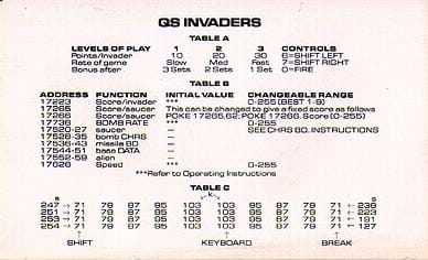 7 - QS Invaders (1981)